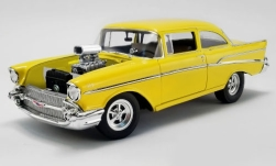 Modelcar - <strong>Chevrolet</strong> 210 Tribute, yellow, Hollywood Knights, 1957<br /><br />ACME, 1:18<br />No. 244077