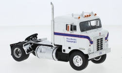 Modelcar - <strong>Kenworth</strong> Bullnose, white/blue, Ross Mackie Transport, 1950<br /><br />IXO, 1:43<br />No. 244145