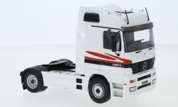 Modelcar - <strong>Mercedes</strong> Actros MP1, white/Decorated, 1995<br /><br />IXO, 1:43<br />No. 244146