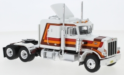Modelcar - <strong>Peterbilt</strong> 359, white/Decorated, 1973<br /><br />IXO, 1:43<br />No. 244171