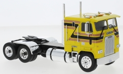 Modelcar - <strong>Freightliner</strong> FLA, yellow/Decorated, 1993<br /><br />IXO, 1:43<br />No. 244174