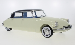 Modellauto - <strong>Citroen</strong> DS 19, metallic-hellbeige/lila, 1956<br /><br />Norev, 1:12<br />Nr. 244188