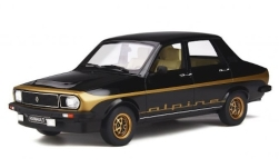 Modelcar - <strong>Renault</strong> 12 Alpine, black, 1978<br /><br />Ottomobile, 1:18<br />No. 244222