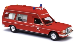 voiture miniature - <strong>Mercedes</strong> VF 123 Miesen, volontaire pompiers Baiersdorf<br /><br />Busch, 1:87<br />N° 244269