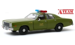 Modellauto - <strong>Plymouth</strong> Fury, The A-Team, 1977<br /><br />Greenlight, 1:24<br />Nr. 244282