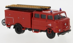 Modellauto - <strong>IFA</strong> W50 LF16, IFA mobile DDR, Messe Leipzig<br /><br />Espewe, 1:87<br />Nr. 244309