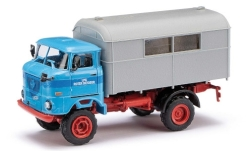 Modellauto - <strong>IFA</strong> W50 mit Koffer, LPG Roter Oktober <br /><br />Espewe, 1:87<br />Nr. 244314