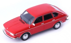 Modellauto - <strong>VW</strong> 412 LE Limousine, rot, 1972<br /><br />AutoCult / Masterpiece, 1:43<br />Nr. 244585