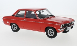 Modelcar - <strong>Opel</strong> Ascona A, red, 1973<br /><br />BoS-Models, 1:18<br />No. 244753