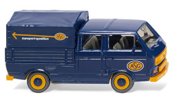 Modellauto - <strong>VW</strong> T3 DoKa, ASG (SE)<br /><br />Wiking, 1:87<br />Nr. 244777