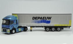 Modelcar - <strong>Renault</strong> T, Depaeuw, curtain covers truck<br /><br />Eligor, 1:43<br />No. 244909