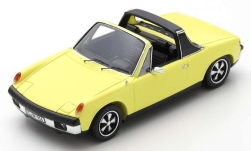 Modelcar - <strong>Porsche</strong> 914/6, light yellow, 1973<br /><br />Spark, 1:43<br />No. 245012