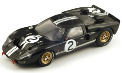 Modellauto - <strong>Ford</strong> GT40 MkII, No.2, 24h Le Mans, B.McLaren/C.Amon, 1966<br /><br />Spark, 1:18<br />Nr. 245047