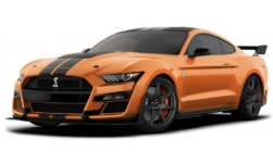 Modellauto - <strong>Ford</strong> Mustang Shelby GT500, orange/matt-schwarz, 2020<br /><br />Maisto, 1:18<br />Nr. 245084
