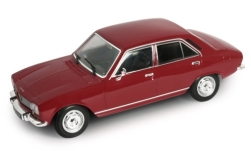Modellauto - <strong>Peugeot</strong> 504, dunkelbraun, 1975<br /><br />Welly, 1:24<br />Nr. 245136