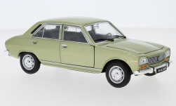 Modellauto - <strong>Peugeot</strong> 504, metallic-kalk, 1975<br /><br />Welly, 1:24<br />Nr. 245137