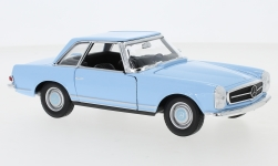 Modelcar - <strong>Mercedes</strong> 230 SL (W113), light blue, 1963<br /><br />Welly, 1:24<br />No. 245138