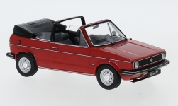 Modellino - <strong>VW</strong> Golf I Cabriolet, rosso, 1981<br /><br />IXO, 1:43<br />n. 245197