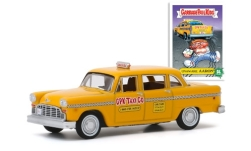 Modellauto - <strong>Checker</strong> Marathon A11, GPK Taxi Co, Unaware Aaron, GarbagePailKids, 1970<br /><br />Greenlight, 1:64<br />Nr. 245244