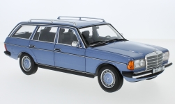 Modellauto - <strong>Mercedes</strong> 200 T (S123), metallic-hellblau, 1980<br /><br />I-Norev, 1:18<br />Nr. 245281