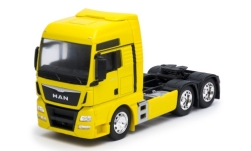 Modellauto - <strong>MAN</strong> TGX 26.440 (6x4), geel<br /><br />Welly, 1:32<br />Nr. 245492