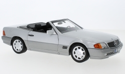 Modellauto - <strong>Mercedes</strong> 500 SL (R129), silber, mit Softtop und Hardtop, 1989<br /><br />I-Norev, 1:18<br />Nr. 245514