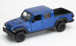 Modellino - <strong>Jeep</strong> Gladiator Rubicon, metallic-blu, in scala 1:27, 2007<br /><br />Welly, 1:24<br />n. 245677