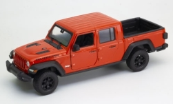 Modellino - <strong>Jeep</strong> Gladiator Rubicon, rosso, in scala 1:27, 2007<br /><br />Welly, 1:24<br />n. 245678