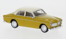 Modelcar - <strong>Volvo</strong> Amazon, dunkelgelb/light beige, 4trg, 1956<br /><br />Brekina, 1:87<br />No. 245766
