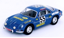 Modellauto - <strong>Alpine Renault</strong> A110, No.55, Guinness, 1000 Km Spa, J.-M.Jacquemin/B.Palayer, 1970<br /><br />Trofeu, 1:43<br />Nr. 245780