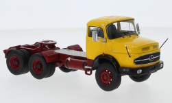 Modelcar - <strong>Mercedes</strong> LS 2624, yellow, 1979<br /><br />IXO, 1:43<br />No. 246001
