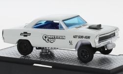 Modelo de coche - <strong>Chevrolet</strong> Nova Gasser, Competition Cams, 1967<br /><br />M2 Machines, 1:64<br />Nº 246015