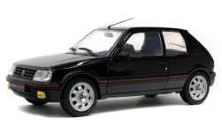 Modellino - <strong>Peugeot</strong> 205 1.9 GTI Mk2, nero<br /><br />Solido, 1:18<br />n. 246068