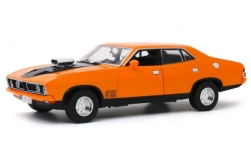Modellauto - <strong>Ford</strong> Falcon XB GT351 4-Door Sedan, orange/schwarz, RHD, 1974<br /><br />Greenlight, 1:18<br />Nr. 246151