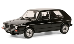 Modellauto - <strong>VW</strong> Golf I L, schwarz, 1983<br /><br />Solido, 1:18<br />Nr. 246403