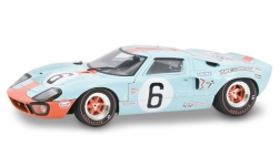 Modellauto - <strong>Ford</strong> GT40, RHD, No.6, John Wyer Automotive Engineering, 24h Le Mans, J.Ickx/J.Oliver, 1969<br /><br />Solido, 1:18<br />Nr. 246405
