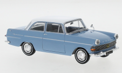 Modellauto - <strong>Opel</strong> Rekord P2, hellblau/weiss, 1961<br /><br />IXO, 1:43<br />Nr. 246542