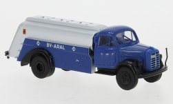 voiture miniature - <strong>Borgward</strong> B 4500 camion-citerne, Aral, 1950<br /><br />Brekina, 1:87<br />N° 246653