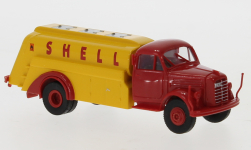 voiture miniature - <strong>Borgward</strong> B 4500 camion-citerne, Shell, 1950<br /><br />Brekina, 1:87<br />N° 246656