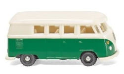 Modellauto - <strong>VW</strong> T1, grün/hellbeige, Bus<br /><br />Wiking, 1:160<br />Nr. 246699