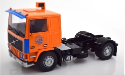 Modellauto - <strong>Volvo</strong> F12, orange/blau, Deutrans, 1977<br /><br />Road Kings, 1:18<br />Nr. 246705