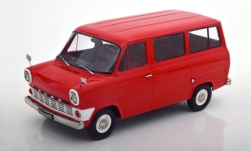 Modellauto - <strong>Ford</strong> Transit Mk1 Bus, rot, 1965<br /><br />KK Scale, 1:18<br />Nr. 246773