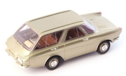 Modellauto - <strong>Renault</strong> Projet 900, metallic-dunkelbeige, 1959<br /><br />AutoCult, 1:43<br />Nr. 246781