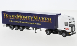 Modellauto - <strong>Scania</strong> Topl./Aerop., Moneymaker, KSZ<br /><br />AWM, 1:87<br />Nr. 246854