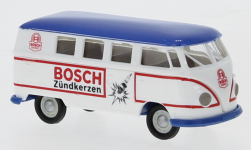 Modellino - <strong>VW</strong> T1b Station wagon, Bosch candela d'accensione, 1960<br /><br />Brekina, 1:87<br />n. 246870