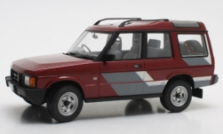 Modellauto - <strong>Land Rover</strong> Discovery MkI, metallic-dunkelrot/Dekor, RHD, 1989<br /><br />Cult Scale Models, 1:18<br />Nr. 246874