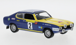 Modellauto - <strong>Ford</strong> Capri, No.2, Rallye DM, Rally Baltic, W.Röhrl/J.Berger, 1972<br /><br />IXO, 1:43<br />Nr. 246917