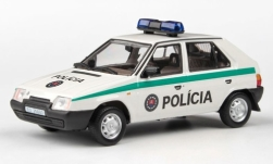 Modellauto - <strong>Skoda</strong> Favoriet 136L, Policia (SR), 1988<br /><br />Abrex, 1:43<br />Nr. 246958