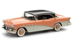 Modelcar - <strong>Buick</strong> Century 4-Door Hardtop, pink/white, black roof, 1956<br /><br />Brooklin, 1:43<br />No. 247116