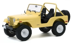 Modellino - <strong>Jeep</strong> CJ-5, giallo-chiaro, Charlies Angels, 1980<br /><br />Greenlight, 1:18<br />n. 247136